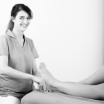 Fußreflexzonenmassagen